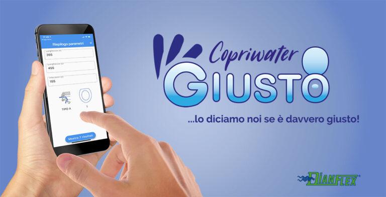 Copriwater Giusto, l'app per scegliere il tuo copri WC