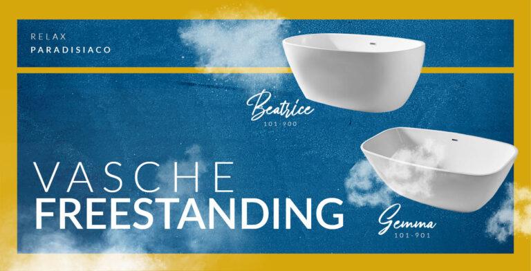 Vasche freestanding, per un bagno esclusivo